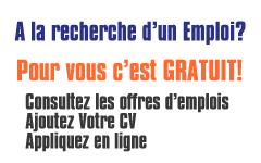 Emplois-CVAC.net gratuit pour les chercheurs d'emplois