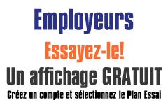 Un affichage d'offre d'emploi gratuit pour les employeus sur CVAC-Quebec.net